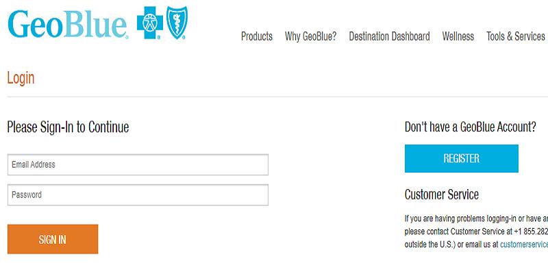 GeoBlue Member Login | GeoBlue Student Login | Customer Service