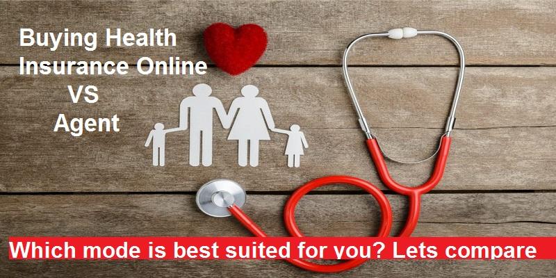 Buying Health Insurance Online vs Agent