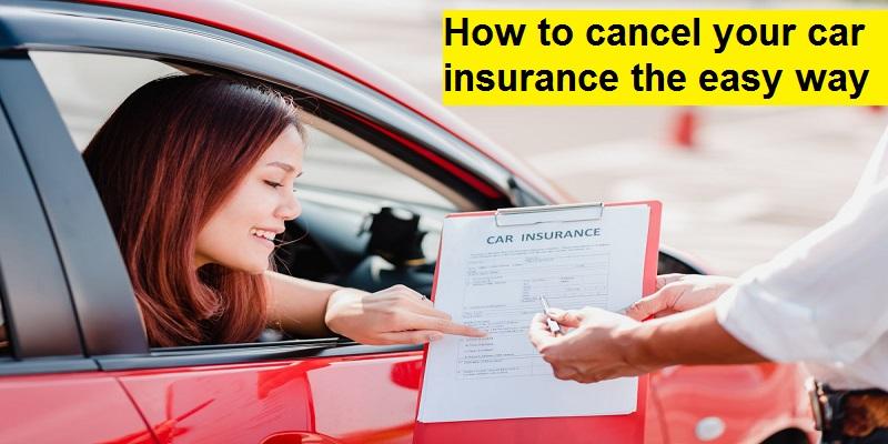 Can I Cancel Car Insurance