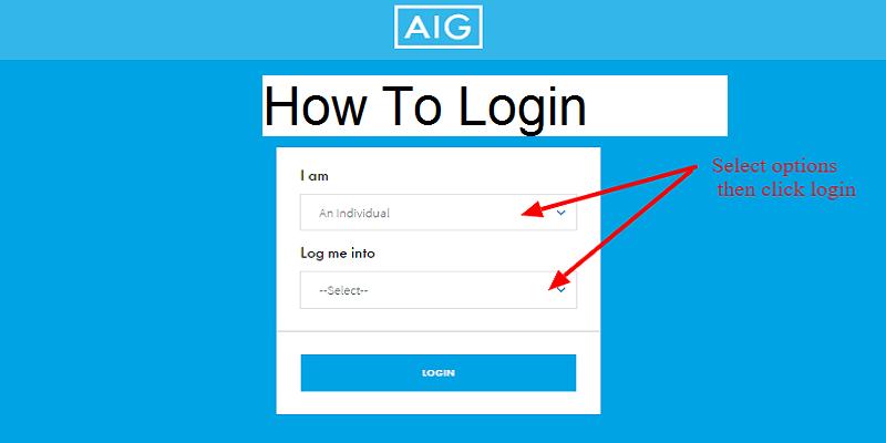AIG Agent Login