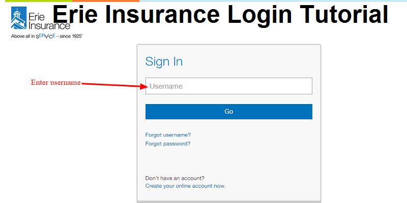 Erie Insurance Login