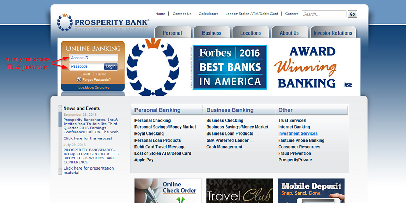 How to Find And Use Your Prosperity Bank Login