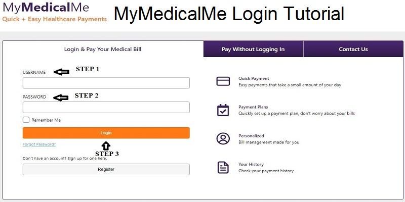 MyMedicalme Pay Bill