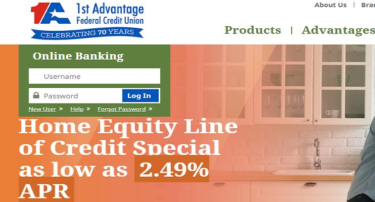 1st Advantage Federal Credit Union Login