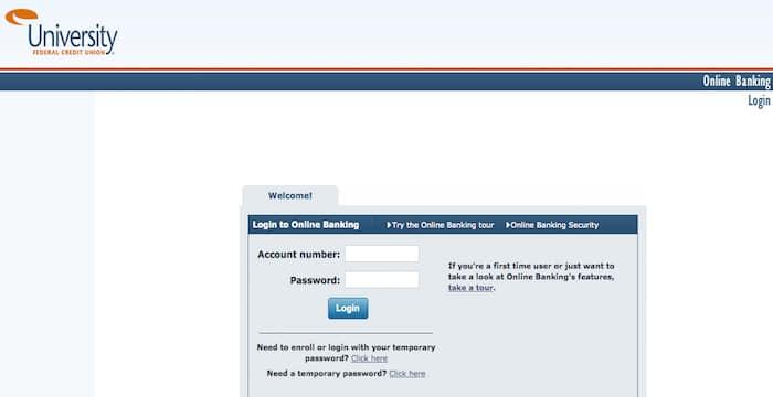 UFCU Online Banking Login