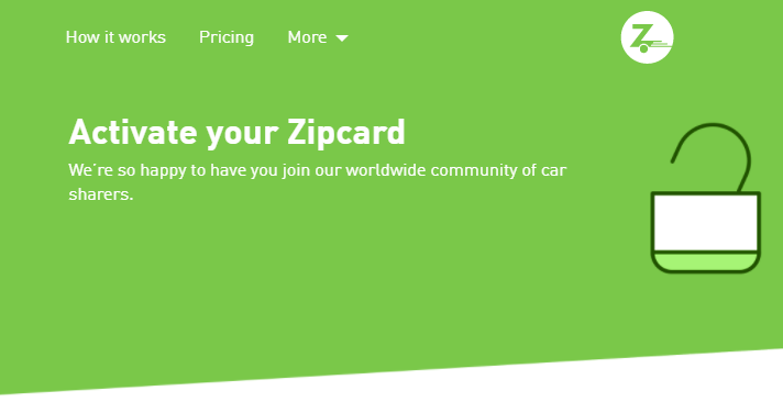 Zipcar Card Activation   How To Activate Your Zipcard