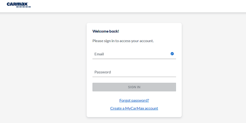 CarMax Auto Finance Login   How To Access Your Account