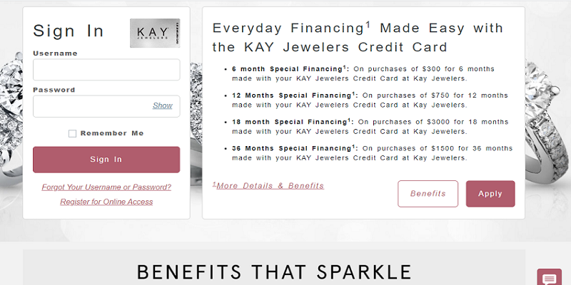 Kay Jewelers Credit Card Login | How To Make a Kay Jewelers Credit Card Payment