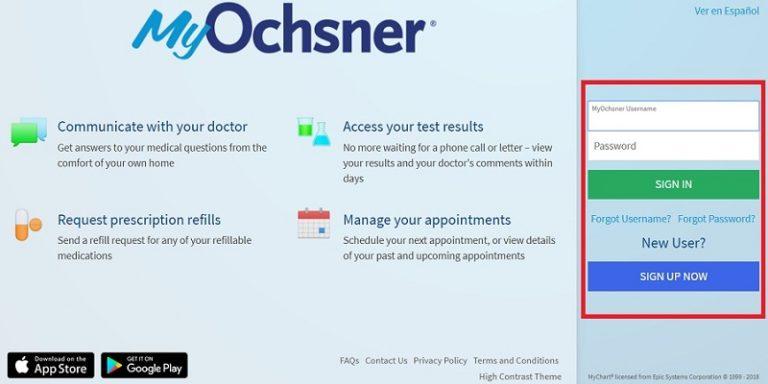 Myochsner Login | How To Get Access To my.ochsner.org
