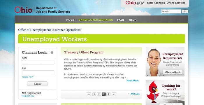 Ohio Unemployment Login: How To Access Your Claimant Account