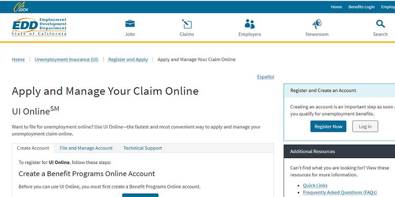 EDD UI Online Login: How To Access Your EDD Account