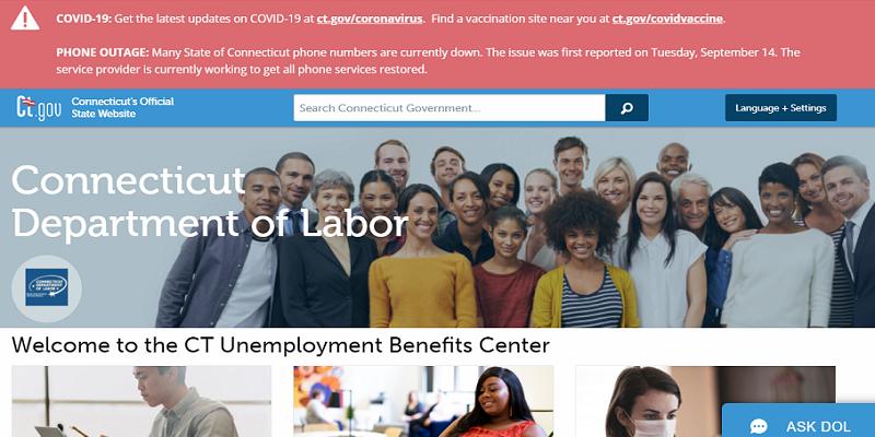 CT Unemployment Login