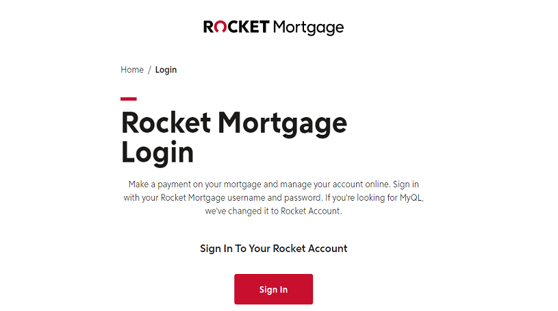 Rocket Mortgage Login: How To Make Your Mortgage Payment