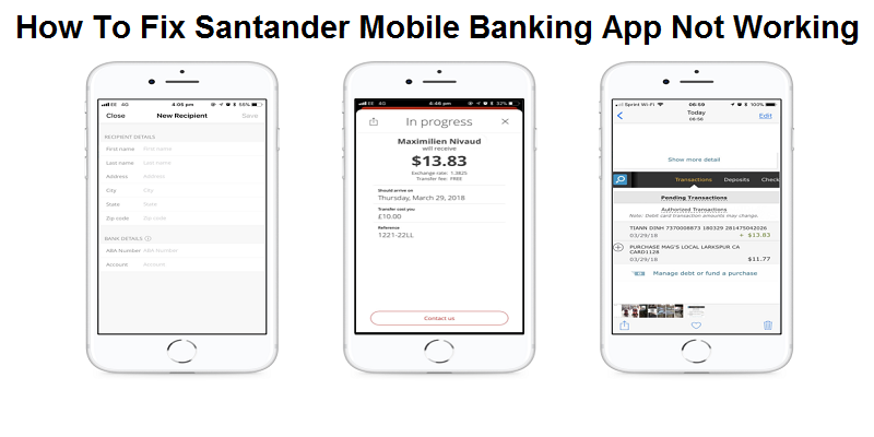 How To Fix Santander Mobile Banking App Not Working