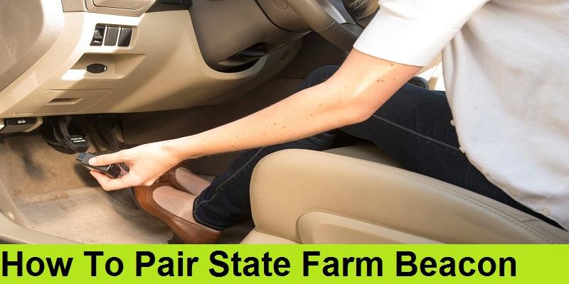 How To Pair State Farm Beacon